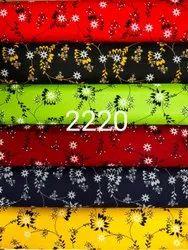 Odp Print Multicolor Rayon Printed Kurti Fabric, 150-200, Width: 56