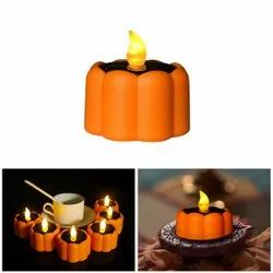 Garden Decorative Outdoor LED Flower Tea Diwali Diya Waterproof Lamps