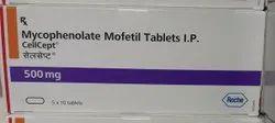 Mycophenolate Mofetil Tablets 500mg