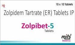 Zolpidem Tartrate Tablet 5 Mg