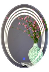Oval Shaped LED Mirror