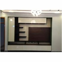 Wooden Plasma TV Wall Unit, For Home,Hotel