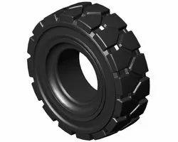 Black Rubber Tyre, Size: Standard