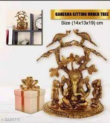 Riddhi Siddhi Ganesh Statue, Packaging Type: Box