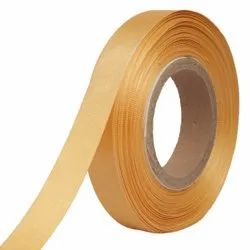 Double Satin NR - Butterscotch Yellow Ribbons25mm/1Inch 20mtr Length