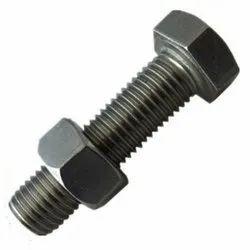 Mild Steel Bolt Nut, Size: 25 Mm