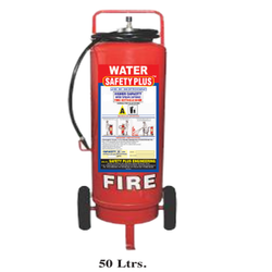 Safety Plus Mild Steel 50L Water Fire Extinguisher