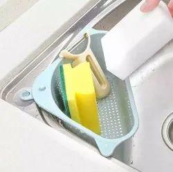 Triangular Multifunctional Drain Shelf Sink,r Bathroom Support Corner Hanging