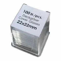 22 x 22 MM Cover Glass