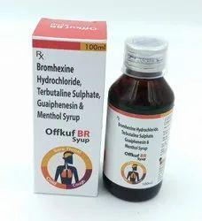 Bromhexine, Terbutaline, Guaiphenesin & Menthol Syrup