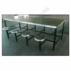 Seater Dining Table With MS Stand