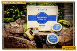 Rangrej's Aromatherapy Diamond Facial Kit For Skin Polishing ,Skin Lustre ( 5 Steps x 50gm)
