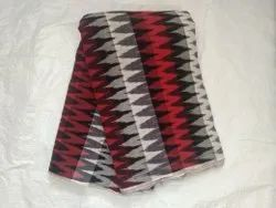 Printed Ikat Cotton 3D Design Fabrics, Gsm: 140 - 150, Uses For Garments Making