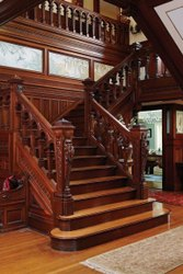 Modern Rosewood Stair Case, For Home