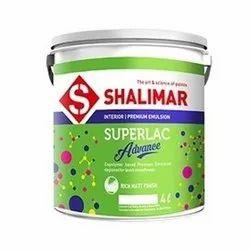 High Gloss Emulsion Shalimar Superlack Paint, Packaging Type: Bucket, Packaging Size: 4 L