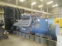 Perkins Generator Set 2000 KVA, For Power, 415