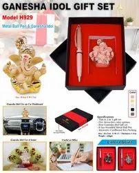 2 In 1 Ganesha Idol Gift Set H929