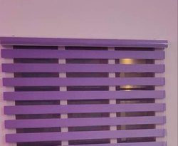 PVC Plain Purple Vertical Roller Blinds