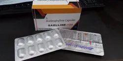 acebrophylline 100 mg