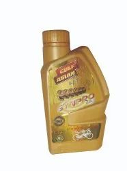 Part Synthetic Oil Bike Gulf Asian Synpro 4T Gold 900ml, Packaging Type: Can