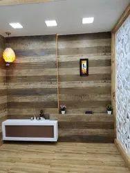 Kajaria 4X2 wooden finish tiles