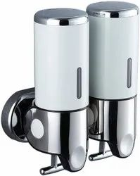 Stainless Steel Manual Lotion With Soap Dispenser, For Office