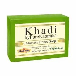 Bypurenaturals Khadi Aloevera Honey Soap 100g