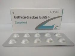 Methylprednisolone 4  mg
