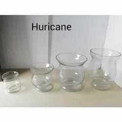 Hurricane Glass Vase