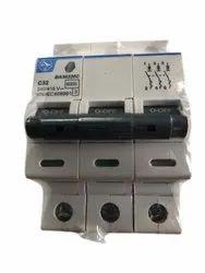 16A Triple Pole MCB Switch