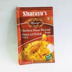 Chicken Biryani Masala, Packaging Size: 25 g, Packaging Type: Packets