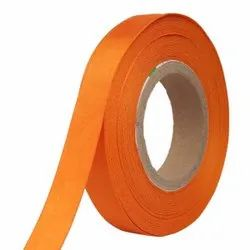 Double Satin NR - Orange Ribbons 25mm/1''Inch 20mtr Length