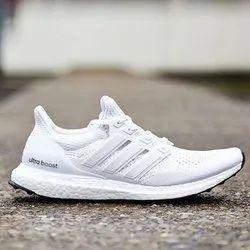White Adidas Ultraboost, Size: Size 41-45
