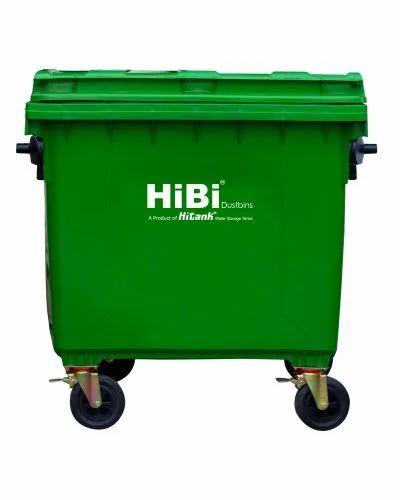 1100L HiBi AW Trolley Bin