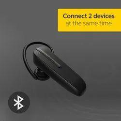 Mobile Black Bluetooth Headset, Model Name/Number: Talk 5