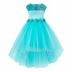 Sky Blue Kids Wear Dresses