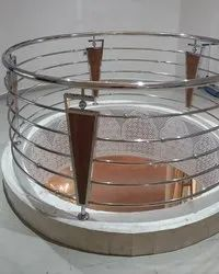 Stainless Steel Polished Ss Digital Design Railing, For Home