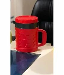 Marco Plast Plastic,Ss Red Plastic Thermos Flask, For Home, Capacity: 750 Ml