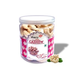 Sharp Natural 200g Packed Cashew, Grade: W240