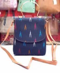 Multicolor Adjustable Side Sling Bag, For Casual Wear, Size: 10 * 9 Inch
