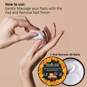 Masking - Nail Polish Remover Wipes / Pads - Orange