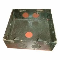 Rectangular 4-Way Mild Steel Electrical Box, For Electric Fitting