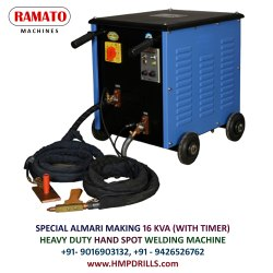 RAMATO Hand Operated Spot Welding Machine (Almari Making Machine)
