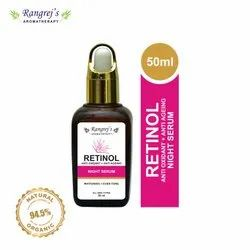 Rangrej''s Aromatherapy Retinol Anti Oxidant   Anti Ageing Night Serum For Anti Ageing 50ml