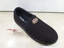 Black Bata Men Slip On Shoes