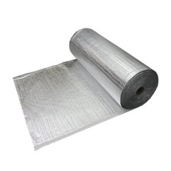 Silver Aluminum Bubble Wrap Insulation Material