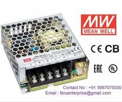 24VDC 1.5A Meanwell SMPS Power Supply