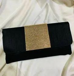 Raw Silk Ethnic Clutch Bag