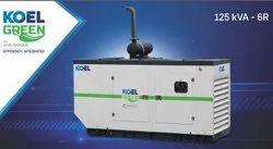 125 KVA Kirloskar Diesel Generator, 3 Phase