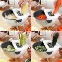 Wet Basket Vegetable Cutter (7 in 1)